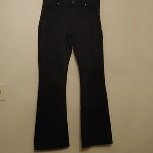 MAX JEANS modern boot Black Jeans Size 6